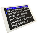 Autoscript WP-I Single Device License for use with an iPad - Compatible with WP-IP/WP-IPN or WP-IPS
