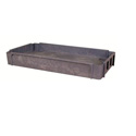 Wesco 270484 3rd Tray for 16-Inch x 30-Inch Standard Plastic Cart