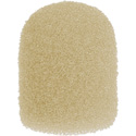 WindTech 1100 Series 1100-19 Small Size Foam Ball Windscreen 1/4 inch Tan