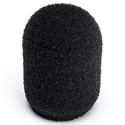 WindTech 500-12 500 Series Military Grade Foam Windscreen for Headset/Podium/Lavalier Type Microphone - 1/2 Inch - Black