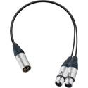 Sescom XLM5-2XLF-1.5 Breakout Cable Sony CCXA-53 Equivalent - 1.5 Foot