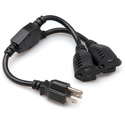 Hosa YAC-406 Grounded Y 3-Prong Power Cable
