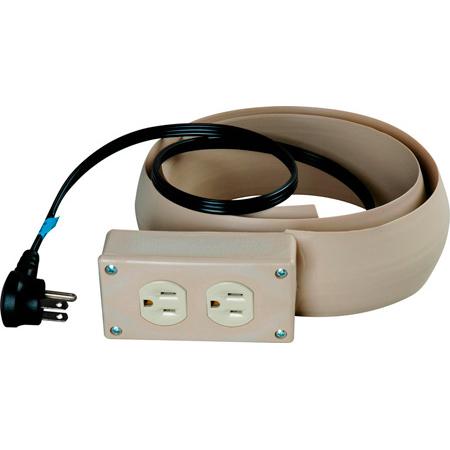 10 Ft. Power Extension Duplex Receptacle Beige