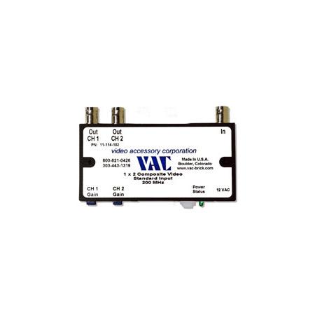 VAC 11-114-102 1x2 Composite Video DA