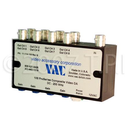 VAC 11-121-104 1x4 Composite Video DA with BNCs