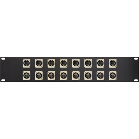 16 Point Neutrik Firewire Patchbay 1394 6pin - 1394 6pin