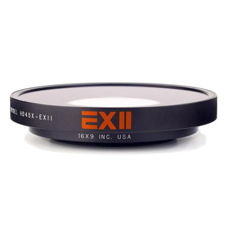 16x9 169-HDSF45X-62 EXII 0.45X Super Fisheye 77mm Thread Mount