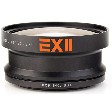 16x9 HDWC7X-37 EXII 0.7x 46mm Wide Converter with 37mm Step Ring