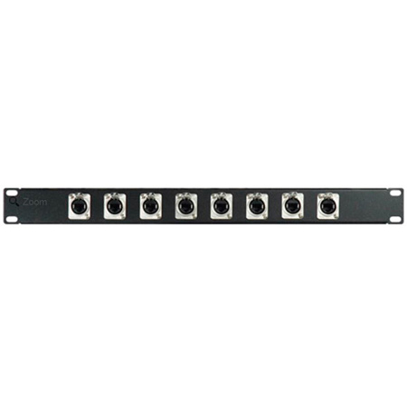 My Custom Shop 16XRJ45-YK 16-Port RJ45 Cat 5e Patch Panel w/ Neutrik NE8FDV-YK Puch-Down - 1RU
