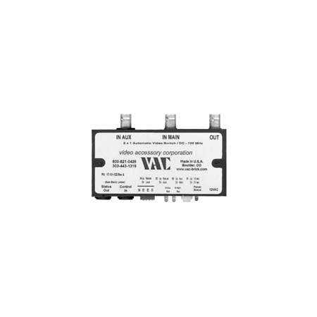 VAC 17-131-122 Composite Video 2 x 1 Automatic Switch
