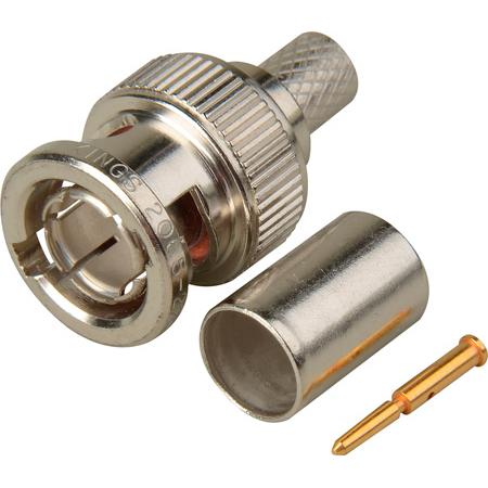 Kings 2065-22-9 75 Ohm BNC Connector for Belden 1694A & Gepco VSD2001