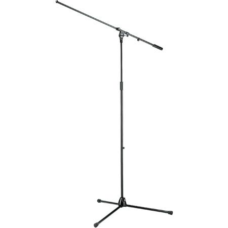 K&M 21021 Overhead Microphone Stand - Black