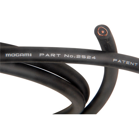 Mogami 2524 High Impedance Transmission Pro Guitar Cable - Black - 328 Foot