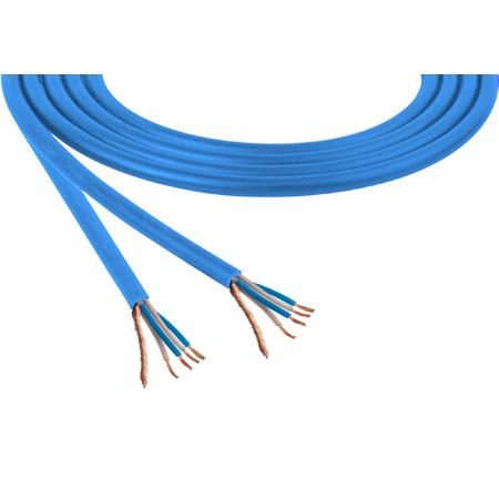 Mogami W2534 Neglex Quad Mic Cable - Blue Per Foot