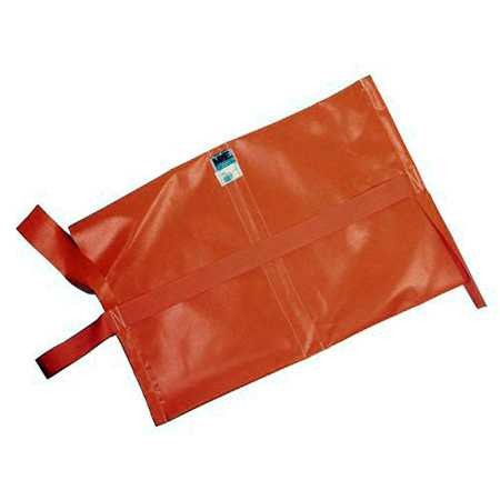 Matthews 25 lb. Water Repellant Sandbag - Empty - Orange