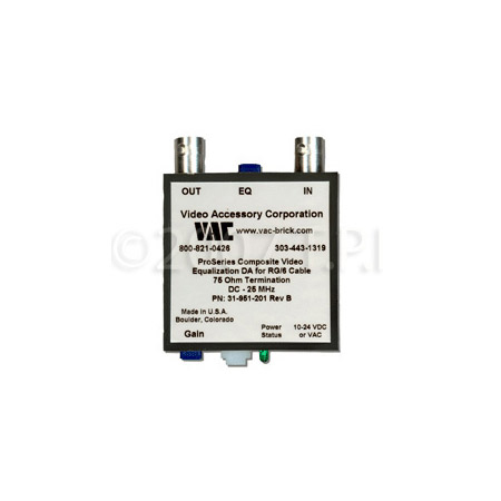 VAC 31-951-201 Line Driver w/Gain & Equalization RG59 Cable