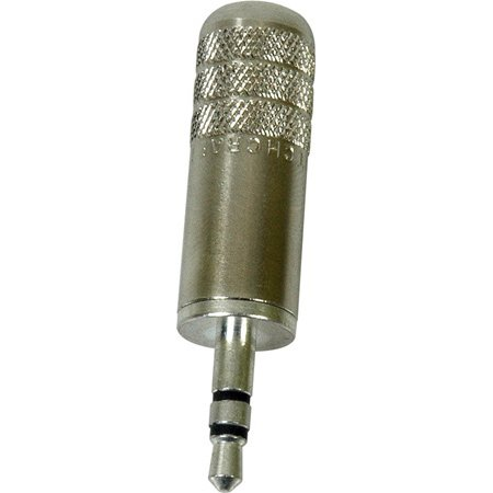 Switchcraft 35HDNN 3.5mm 3 Conductor Plug with Nickel Handle and Plug