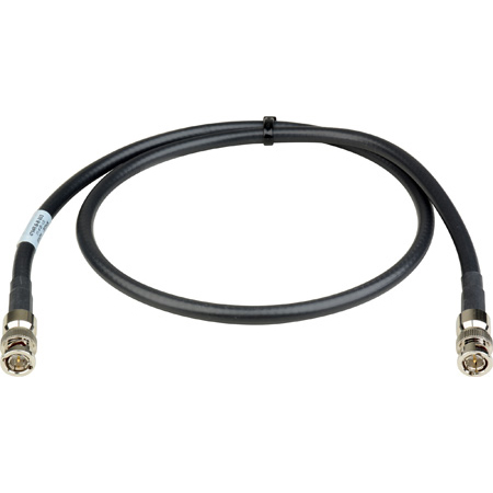 Laird 4794R-B-B-003 12G-SDI/4K UHD Single Link BNC Cable - 3 Foot Black