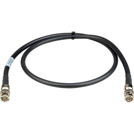 Laird 4794R-B-B-100 12G-SDI/4K UHD Single Link BNC Cable - 100 Foot Black
