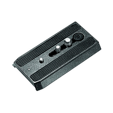 Manfrotto 501PL Rapid Connect Sliding Plate w/1/4-20 & 3/8 in. Fixing Screws