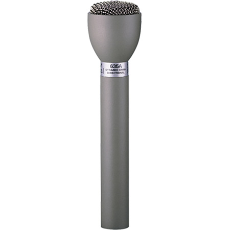 Electro-Voice 635A Classic Dynamic Omni Handheld Interview & ENG Microphone