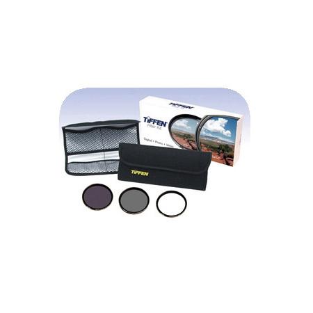 Tiffen 77DIGEK3 77mm Digital Essentials Filter Kit
