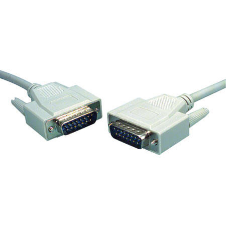 APL-1550-06 - MCM - DB-15 Male to Male Cable - 6ft