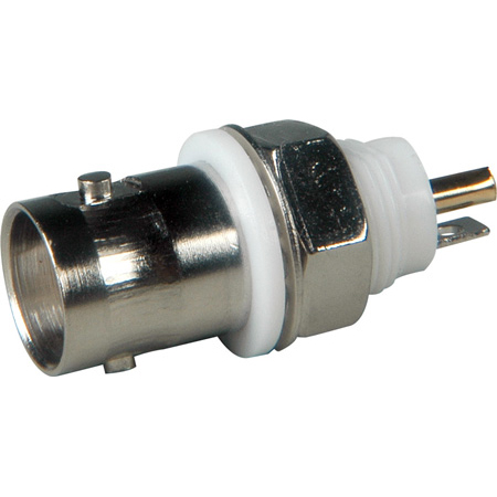 Connectronics Isolated 50 Ohm BNC Chassis Mount Female BNC Connector