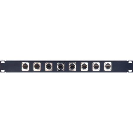 My Custom Shop 8XHDMI 8-Port HDMI Feed-Through Patch Bay - 1RU