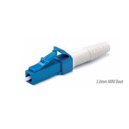 Senko 931-159-1D2 Low Loss 125um SingleMode LC Fiber Connector with Blue 3mm Boot