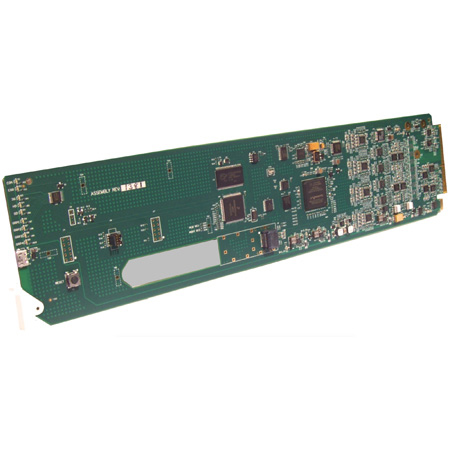 Cobalt Digital 9933-EMDE-75/110 3G/HD/SD-SDI 16-Ch Unbalanced/Balanced AES Embed / De-Embed openGear Card