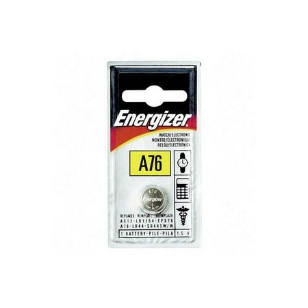 Energizer A76BPZ / LR-44 Zero Mercury Alkaline Coin Cell Battery 1.5 V DC - 1 Each