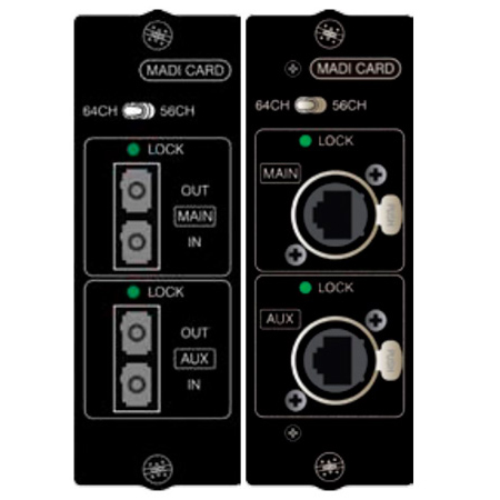 Soundcraft A520.001000SP - Optical MADI I/O Card For use in Si Console Expansion Slot Only