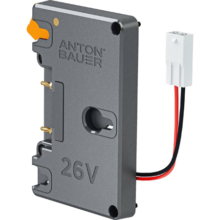 Anton Bauer 8375-0224 26V Gold Mount Plus Battery Plate with Molex Connection (Phantom Flex 4K)