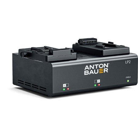 Anton Bauer 8475-0127 LP2 Dual V-Mount Battery Charger