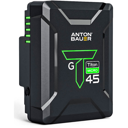 Anton Bauer 8675-0163 Titon Micro 45 Gold Mount Battery