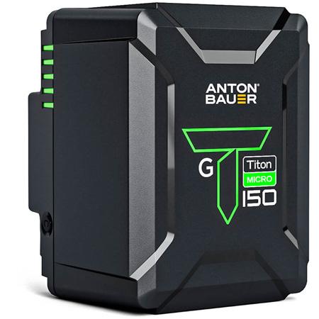 Anton Bauer 8675-0165 Titon Micro 150 Gold Mount Battery