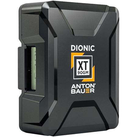 Anton Bauer Dionic XT 90 Lithium Ion Battery 14.1 Volts 99Wh - Gold Mount