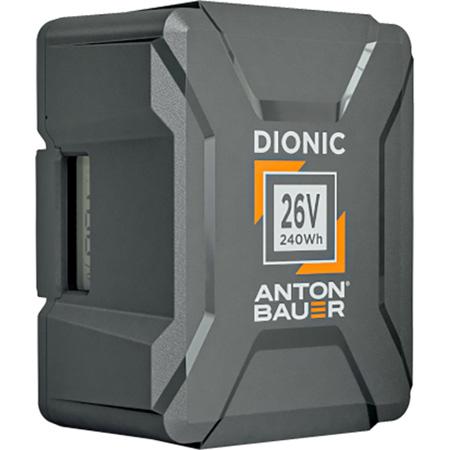 Anton Bauer Dionic 26V 240 Gold Mount Plus Battery -  25.4 volts 250Wh