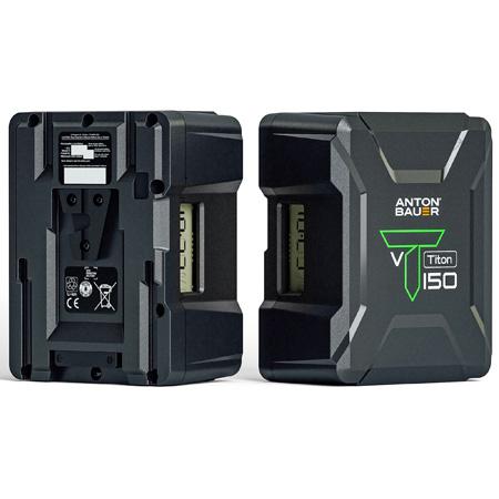 Anton Bauer Titon 150 Li-Ion Camera Battery - 14.4v 156Wh - V-Mount