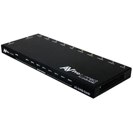 AVPro Edge AC-DA18-AUHD 1x8 HDMI Distribution Amplifier