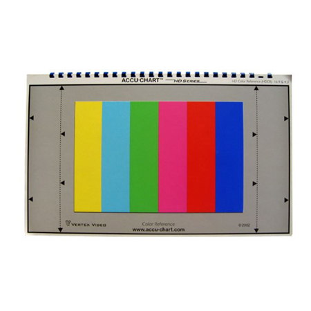 Accu-Chart HD Color Reference Chart