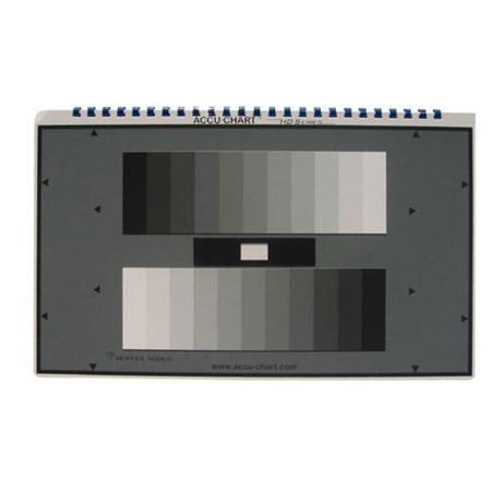 Accu-Chart HD 11 Step Gamma Compensated Grey Scale Chart
