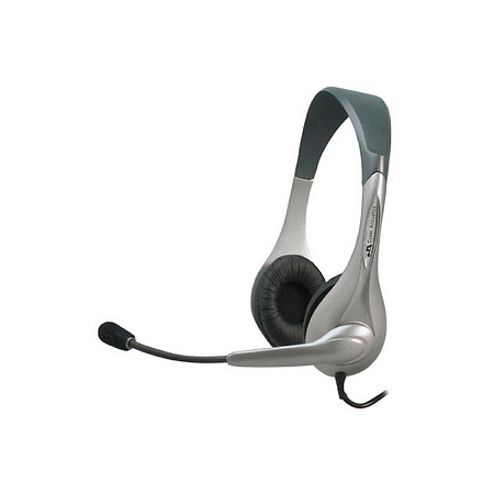 Cyber Acoustics AC201R-ML Stereo Headset With Microphone and 3.5 mm connectors