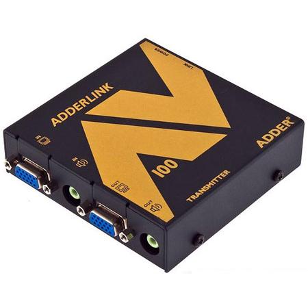 Adder ALAV100T-US Link AV100T VGA & Audio Extender - Transmitter