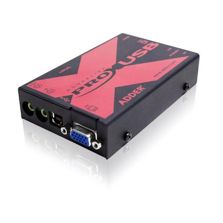 Adder X-USBPRO-US Link X-USBPRO - VGA -  Audio and USB to 300m