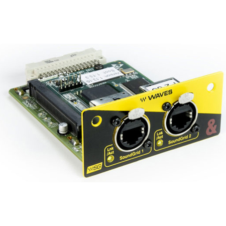 Allen & Heath AH-M-SQ-WAVES3-A 64 x 64 SQ WAVES Audio Interface Card for SQ Series Mixers - 96kHz / 48kHz