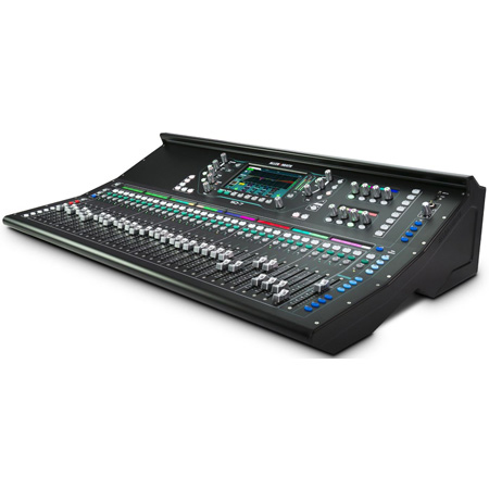 Allen & Heath AH-SQ-7 33 Fader 48 Channel 32 Onboard Preamp 96kHz Digital Mixing Console