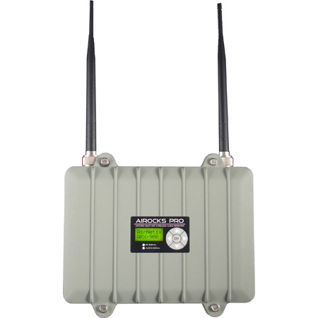 AirNetix ARX-900 AiRocks Pro 900MHz Multi-Hop Digital Wireless Audio Repeater / Distributor