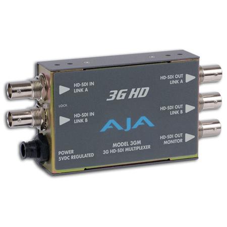 AJA-3GM 3G and 1.5G-SDI to and from SDI Muxer/Demuxer